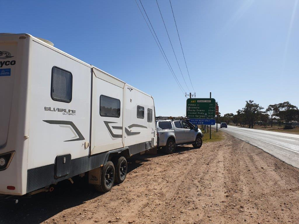 The Start of the Stuart Highway - Port Augusta