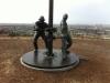 Oil Worker statue