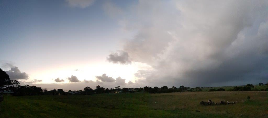 Storm abating ???
