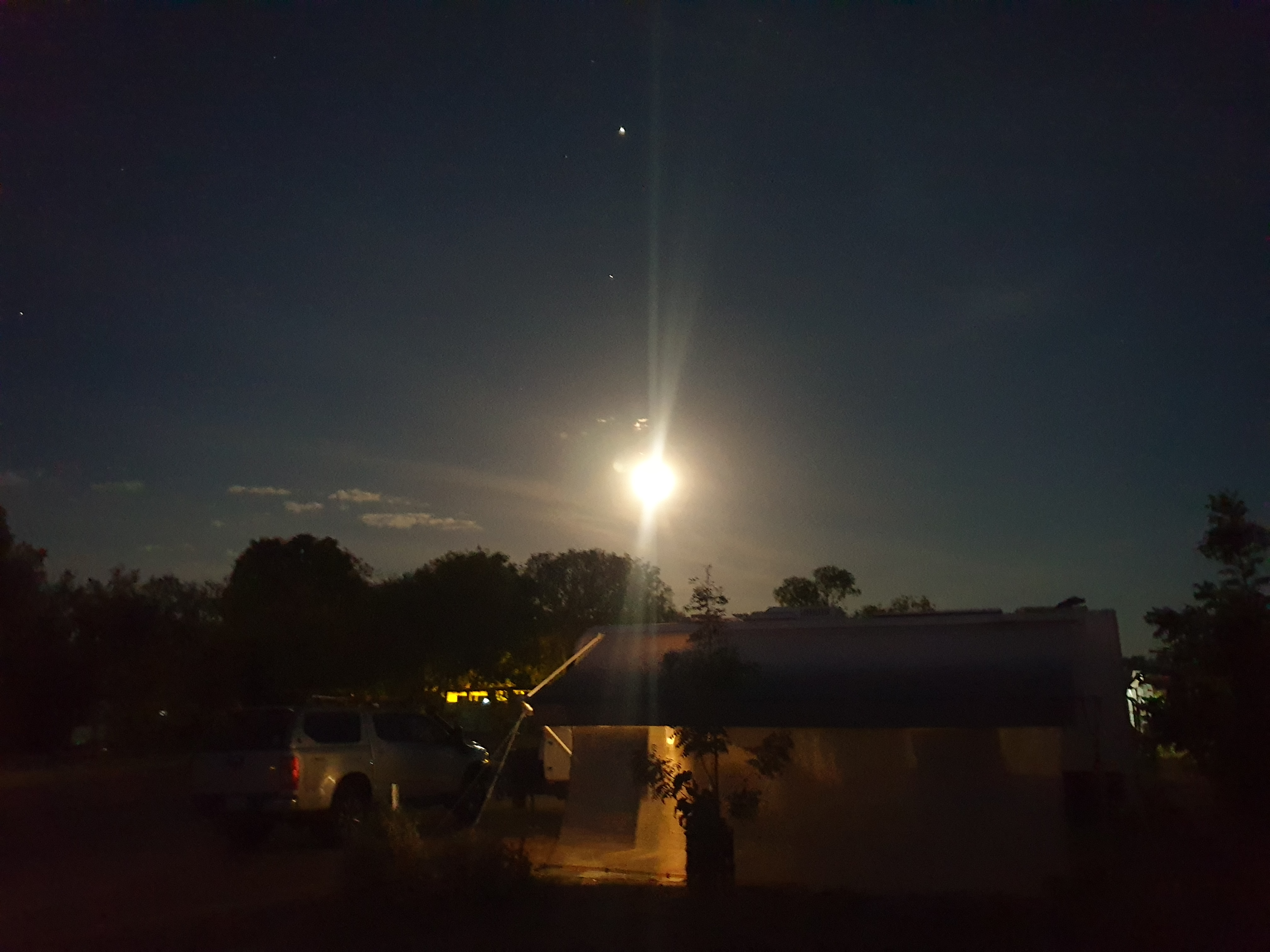 Full Moon over Mataranka