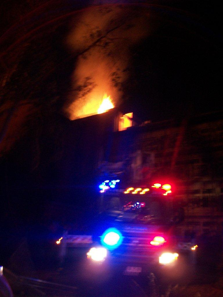3rd Alarm Fire - old Julia Farr Building at Fullarton
