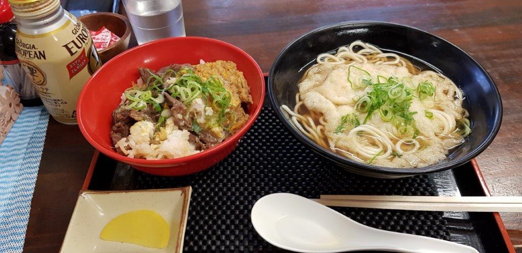 Soba Meal in Himeji