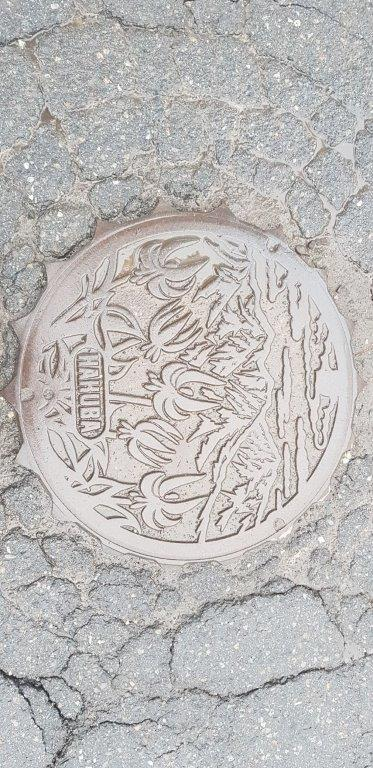 Man hole Cover Hakuba