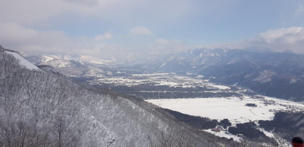 View over Hakuba Valley