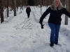 Going for a walk in the snow