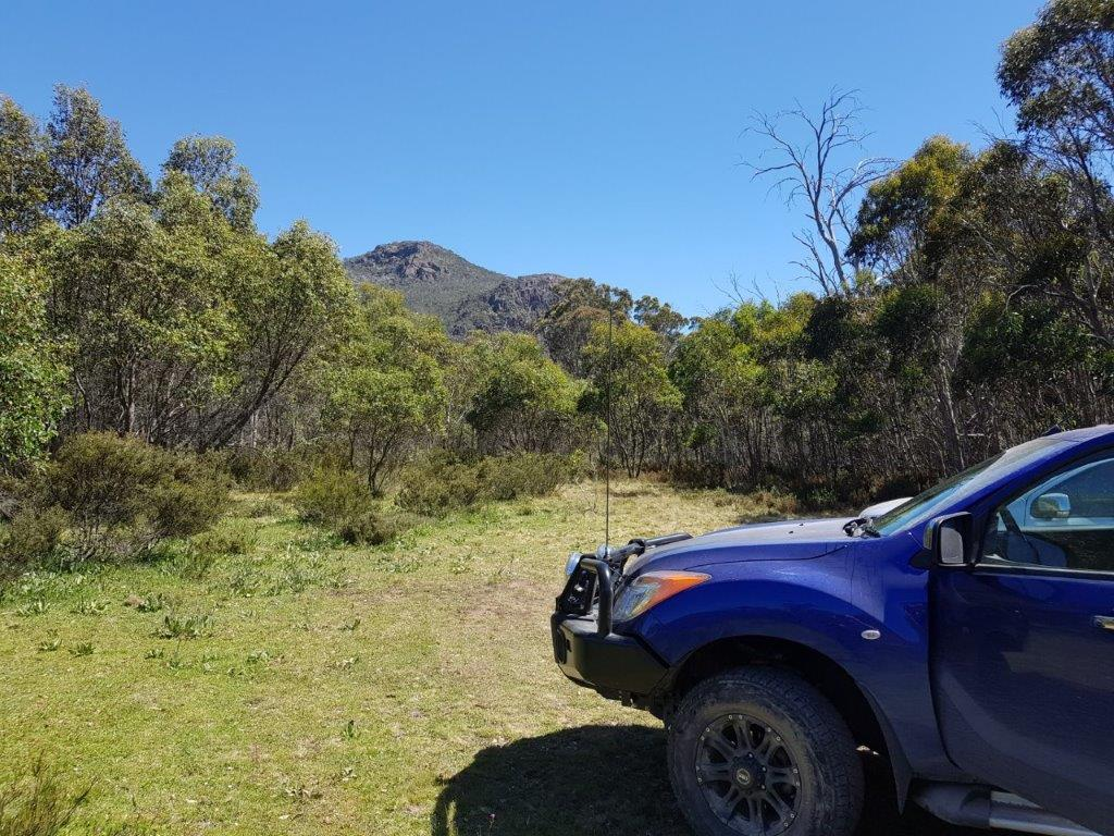 Looking to Mt Cobberas