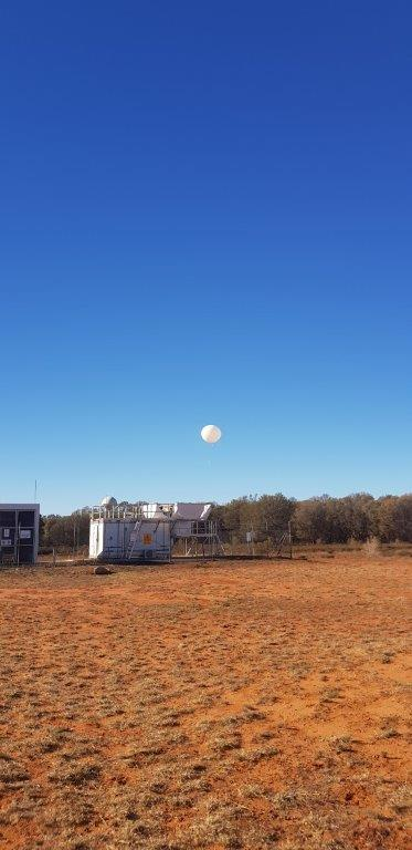Charleville Weather Balloon Release QLD