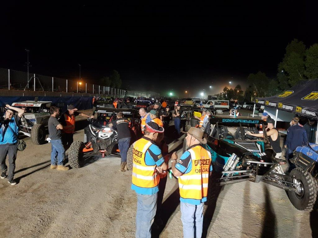 Finke Desert Race Scrutiny Night