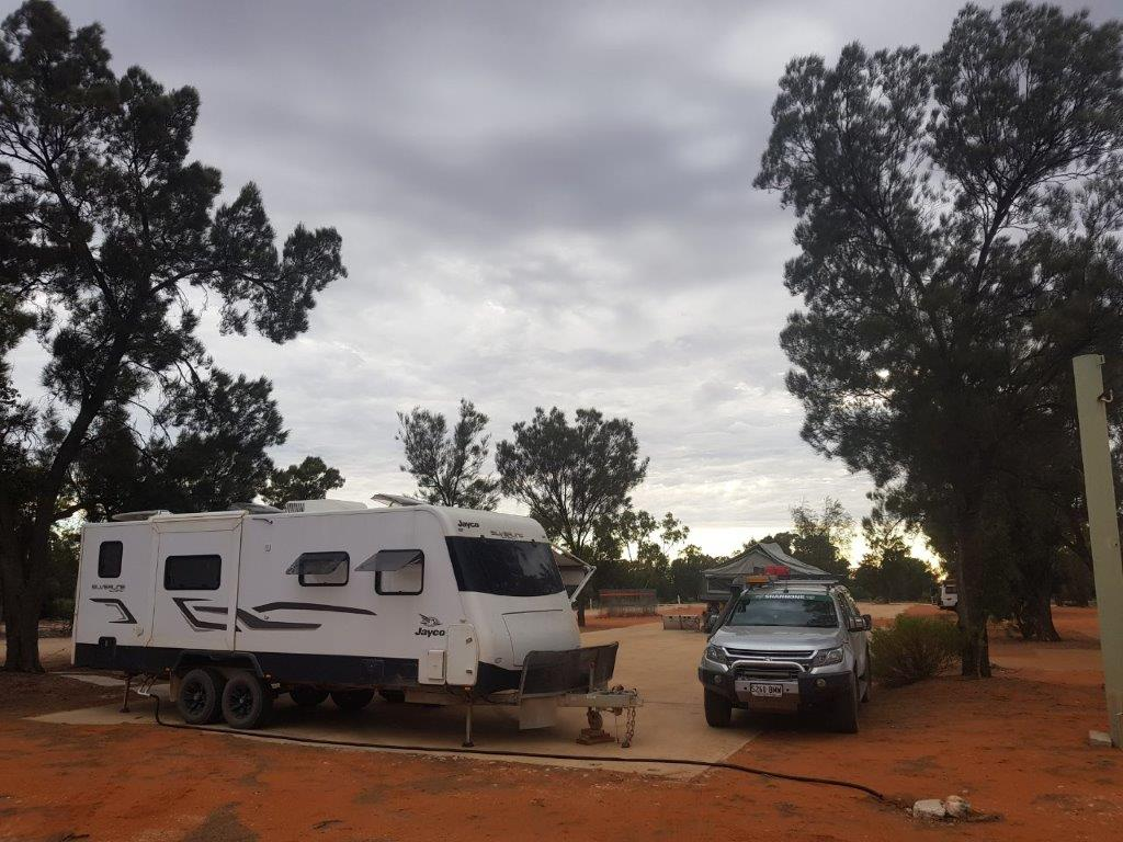 Camping at the Village