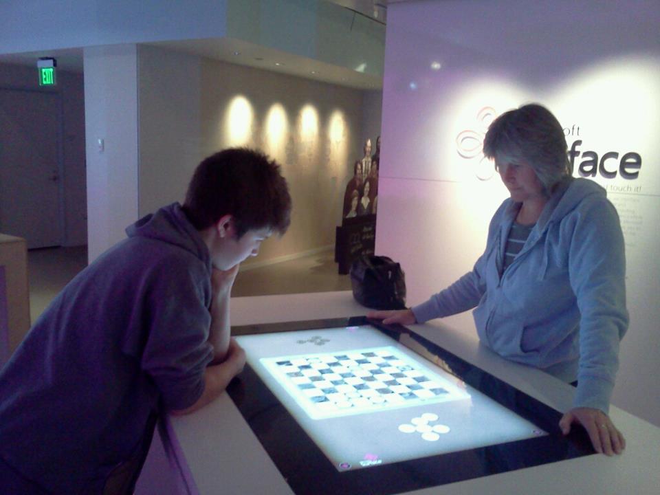 Playing Checkers at Microsoft
