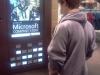 Bradley in the Microsoft Shop