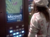 Rachael in the Microsoft Shop