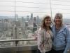 Rachael & Jenny over Seattle