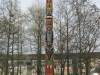 Totem Pole at base of Space Needle