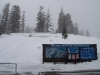 Snowing again ...