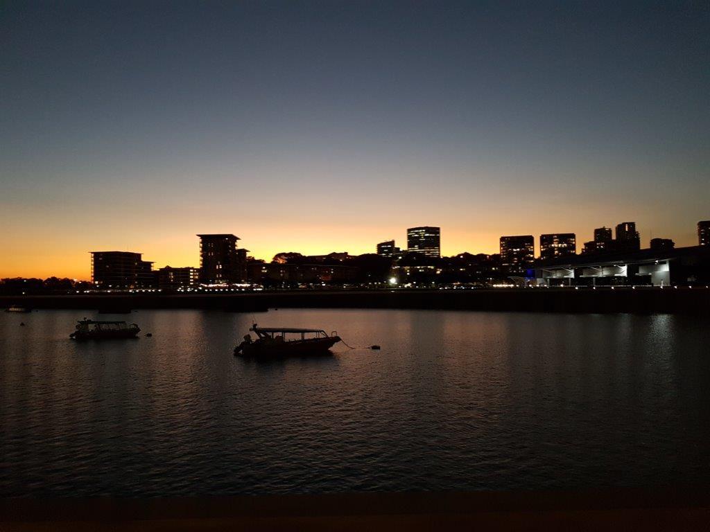 Sunset over Darwin