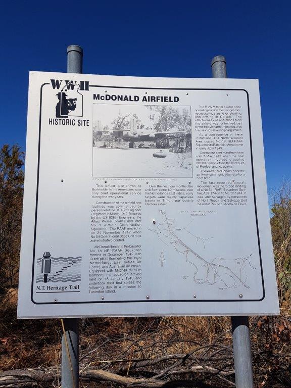 McDonalds WW2 Airstrip NT