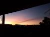 Sunset at Devils Marbles Hotel