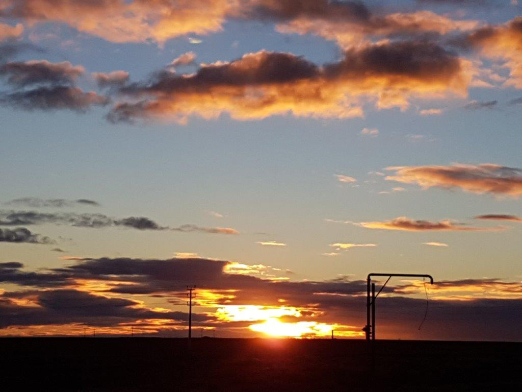 Sunset at Woomera
