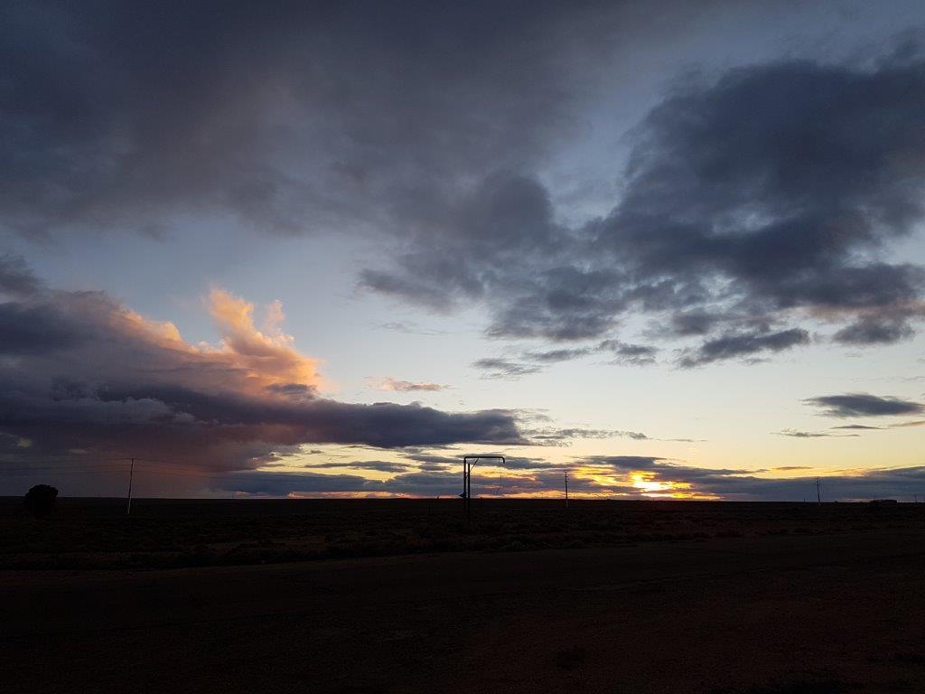 Sunset at Woomera
