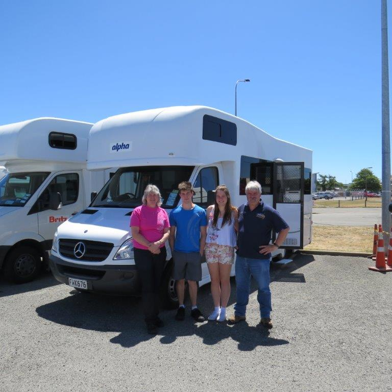 Picking up the Motorhome