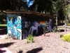 Toilet art in Ryan Gardens Whyalla ..