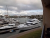 Marina outside my apartment ...