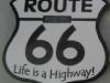 Route 66 Geocoin - back