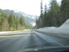 The road to Stevens Pass