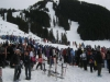 Pond Skimming at Stevens Pass