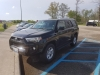 Our black SUV