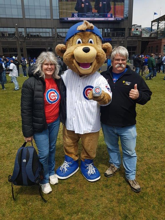 Clark the Chicago Cubs Mascot