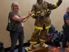 Living Firefighter Statue