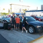 The last of the Dodge Charger - our chariot for 2 weeks